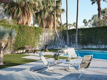 Eames Aluminum Lounge Chair-Outdoor