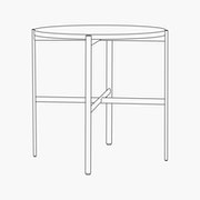 Sylvain Outline Side Table