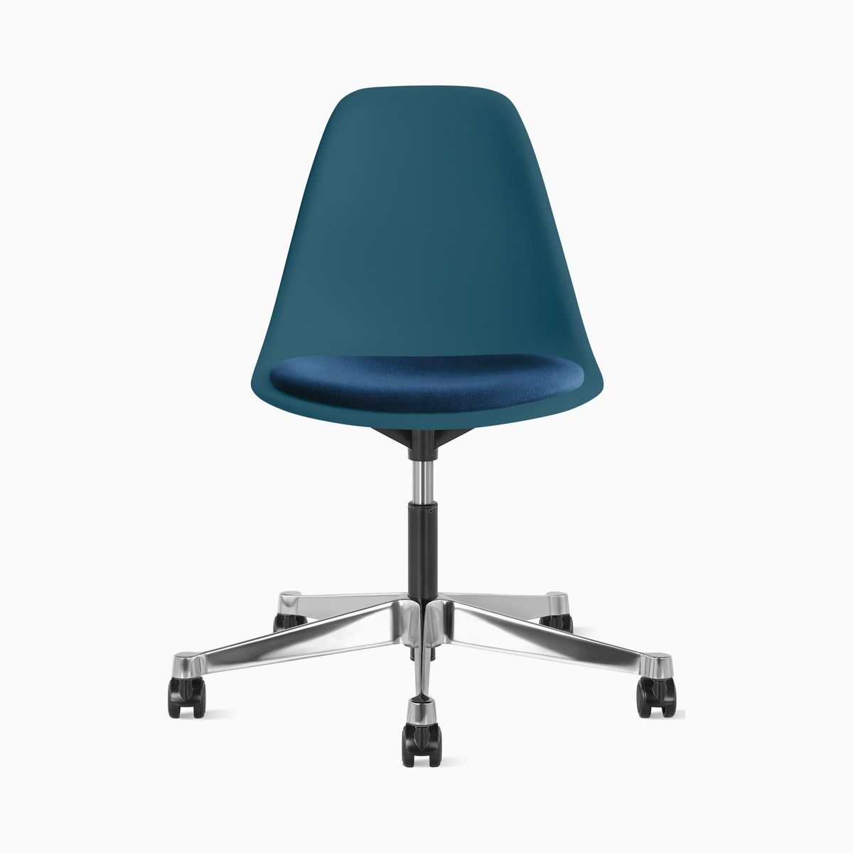 Eames Task Chair with Seatpad, Molded Plastic Side chair