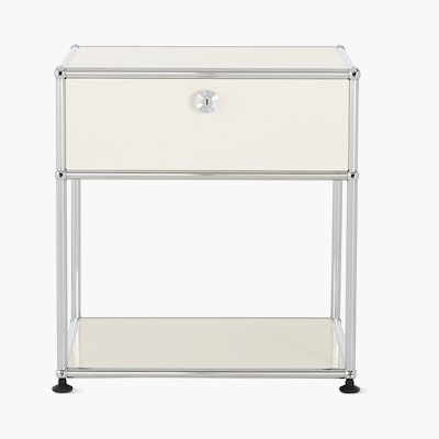 USM Haller Bedside Table with Drawer