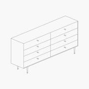 Nelson Thin Edge Double Dresser