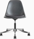 Eames Molded Plastic Task Side Chair with Seatpad