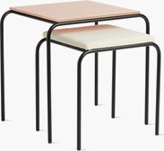 Fellow Nesting Table with Stool