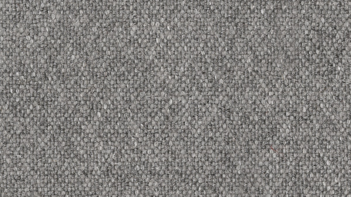 Light Grey Ducale Wool Fabric Swatch (DWR)