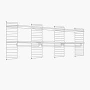 "High - 3 Bays - 24"" Wide Shelves"