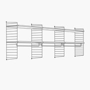 "High - 3 Bays - 24"" Wide Shelves"