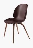 Beetle Side Chair,  Walnut Base