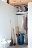 Tall Dustpan and Brush Set