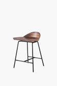 CB Spindle Low Back Counter Stool