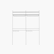 """Deluxe/Purse and Shirt/Simple - 2 Bays - 32"""" Wide Shelves"""