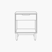Raleigh Bedside Table