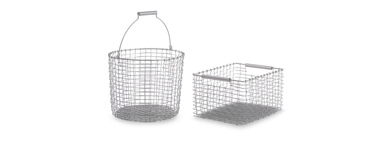 Korbo Handmade Rectangle Wire Basket