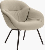 About A Lounge 87 Armchair Soft,  Low Back