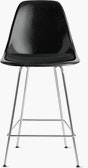 Eames Molded Plastic Counter Stool with Seat Pad (DWR)