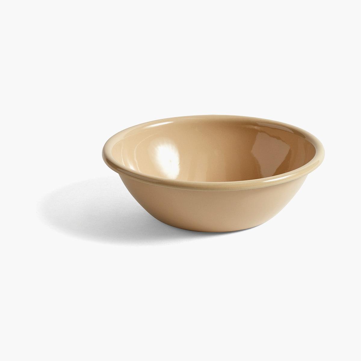 Enamel Bowl, Brown