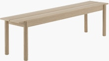 Linear Wood Bench,  170cm
