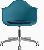 Eames Molded Plastic Task Armchair with Seatpad