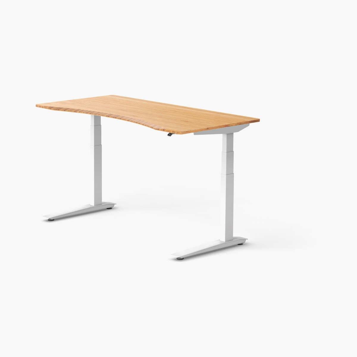 Jarvis Contour Bamboo Standing Desk
