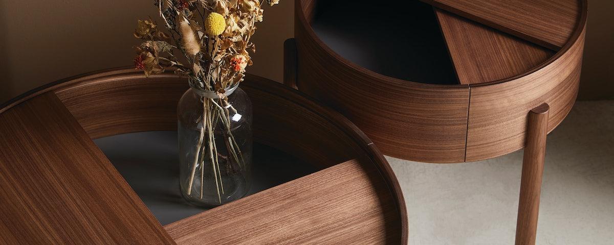 Arc Swivel Coffee Table