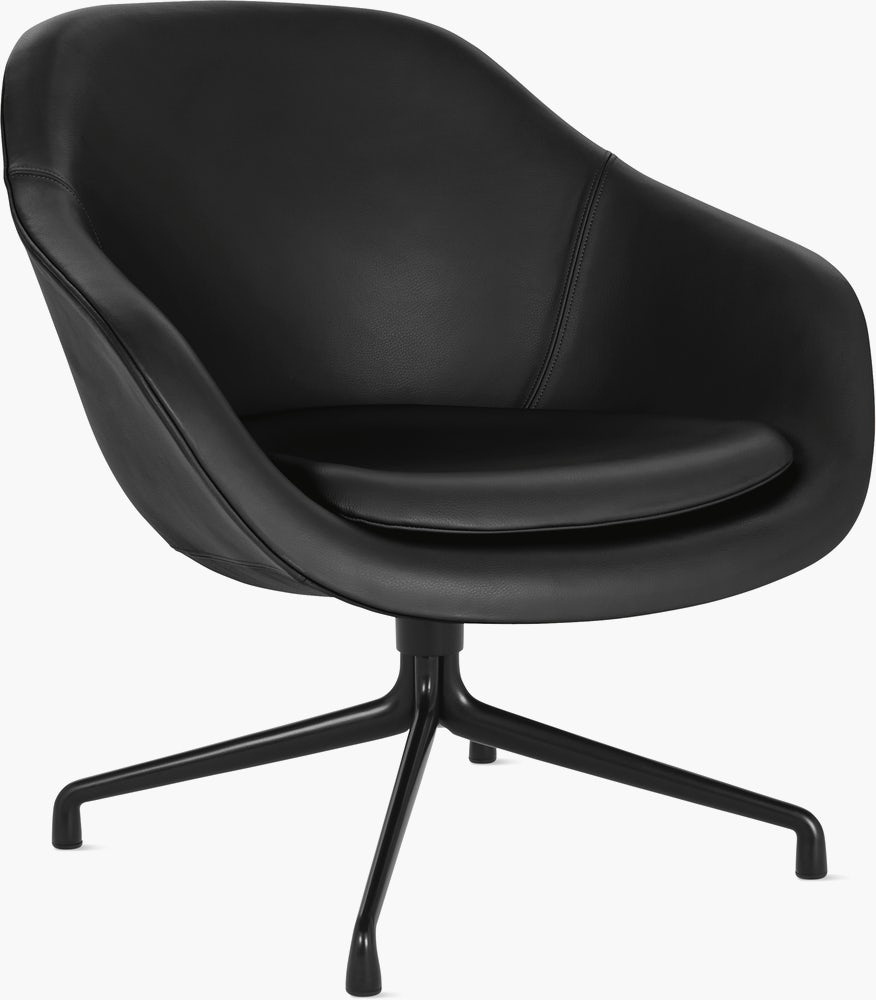 About A Lounge 81 Swivel Chair Low Back Design Within Reach