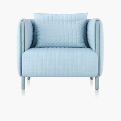 ColourForm Club Chair (Quilted)