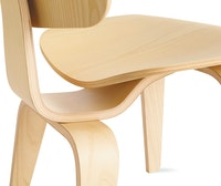 Eames Molded Plywood Dining Chair Wood Base (DCW)