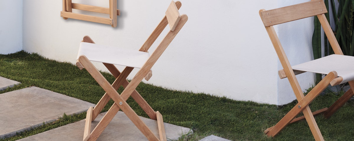 Deck Folding Dining Chair