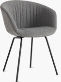 AAC 27 Soft About a Chair Upholstered Armchair Metal Base
