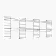 "High - 3 Bays - 32"" Wide Shelves"