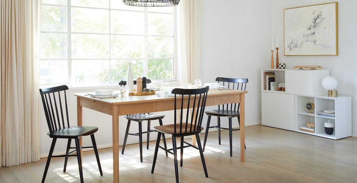 Edel Desk with Salt Chair