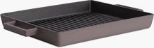 Terra Cotto Rectangular Grill Pan