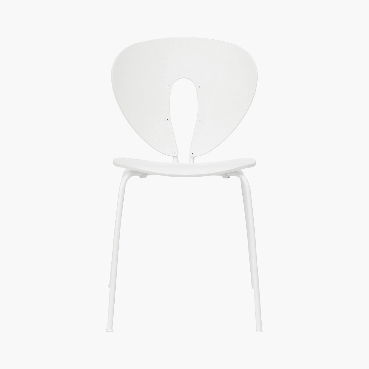 Globus Chair, White Ash