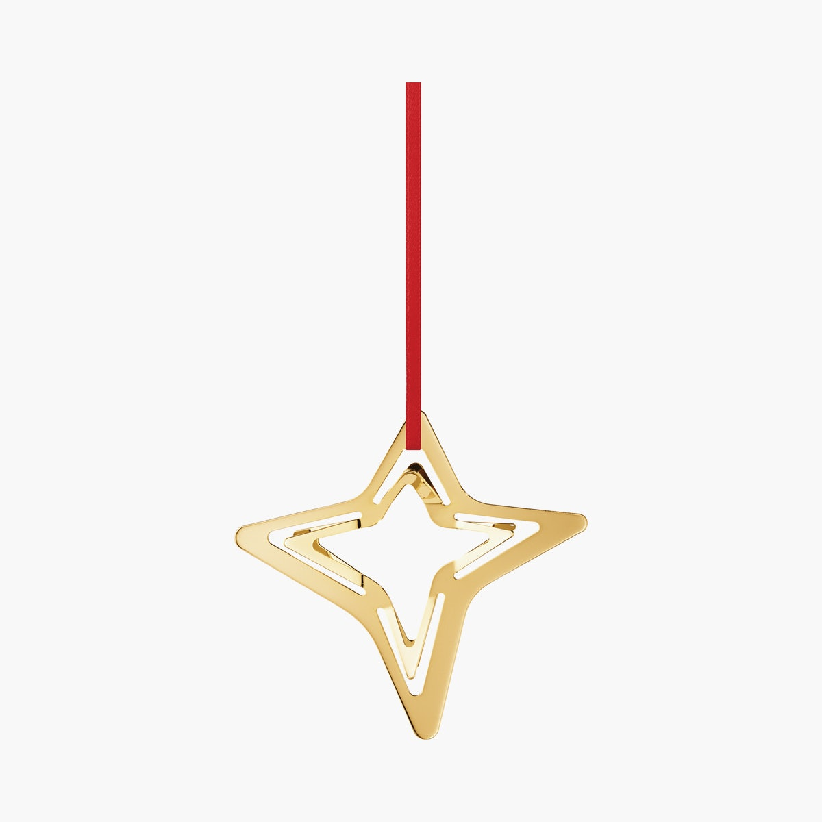 Georg Jensen Star Ornaments, 4 Point