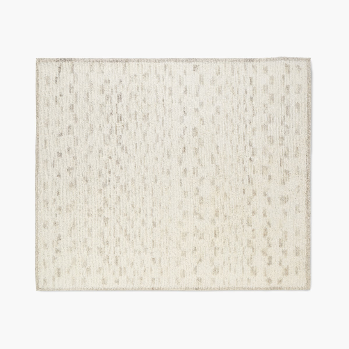 Marl Handwoven Moroccan Wool Rug