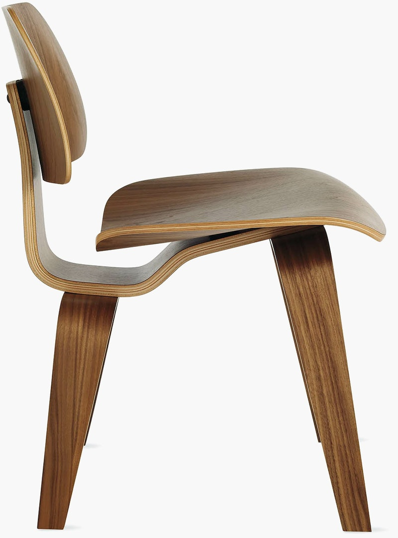 Eames Molded Plywood Dining Chair Wood Base (DCW) - Design ...