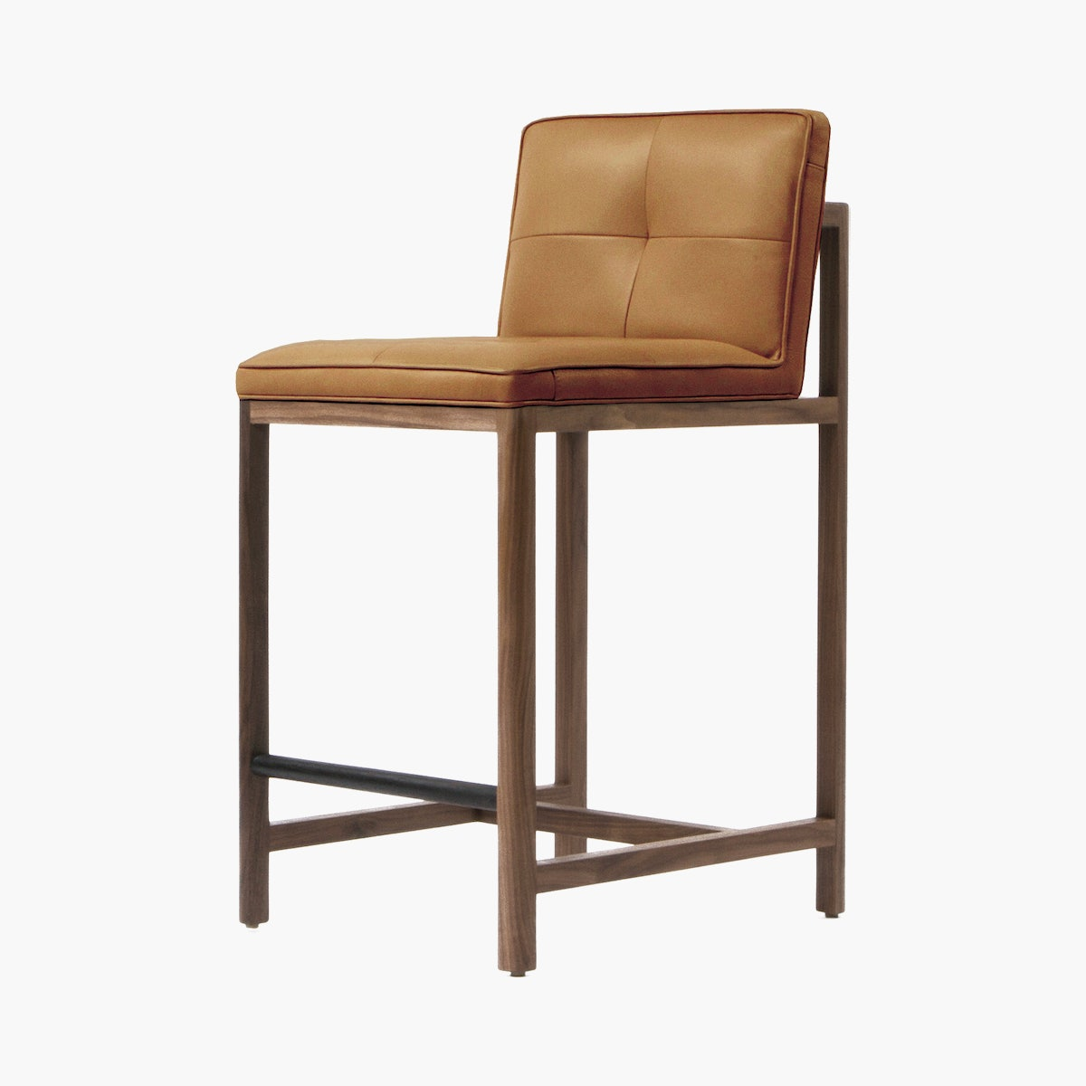Wood Frame Stool