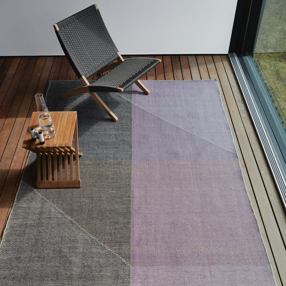 Capas Indoor Outdoor Rug with Cuba Chair and Fiona Stool
