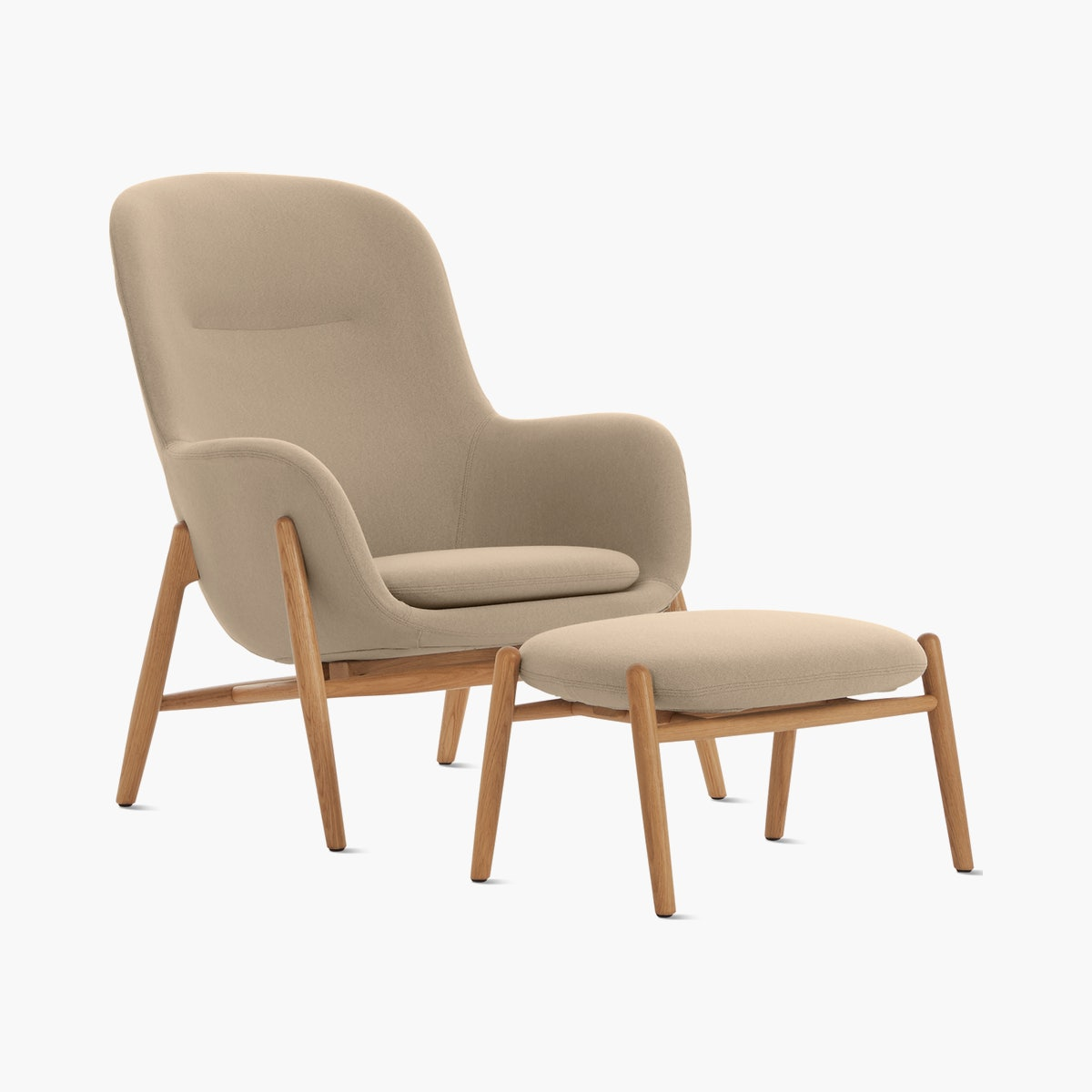 Nora Lounge Chair and Ottoman