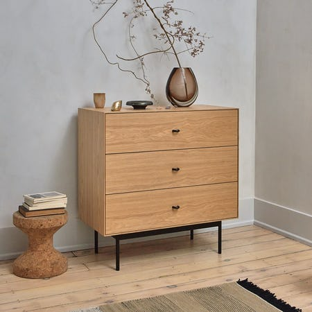 Loop Three Drawer Dresser