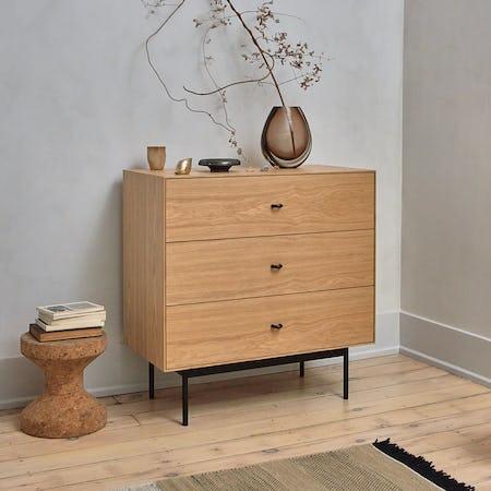 Loop Three Drawer Dresser