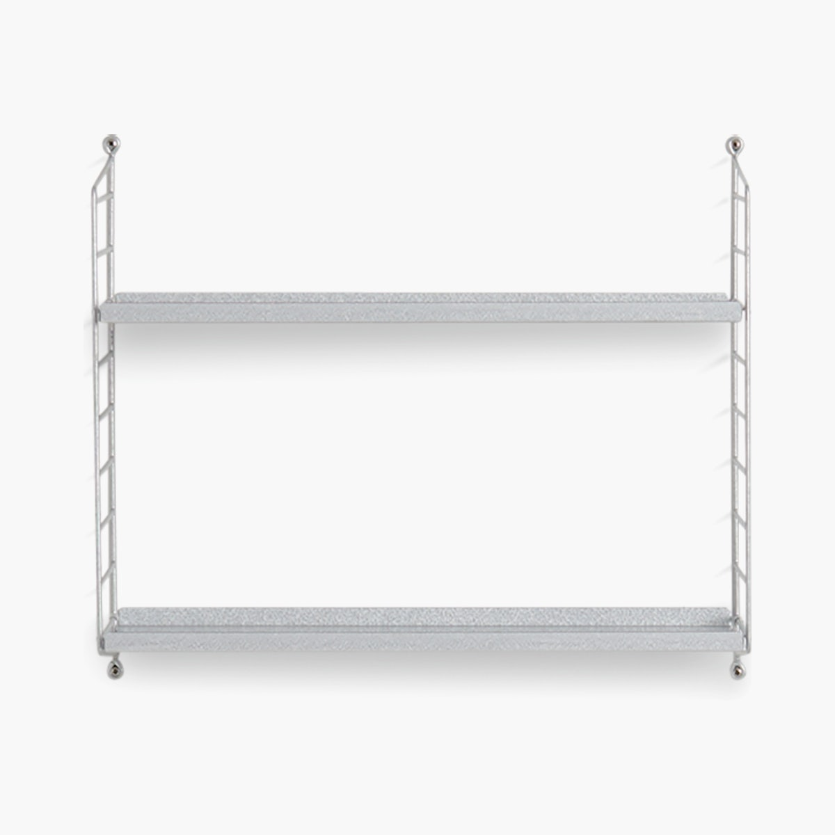 String Galvanized Wall Shelving