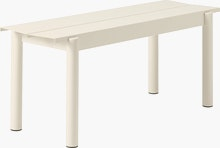 Linear Steel Bench,  110cm