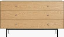 Loop Dresser, 6 Drawer