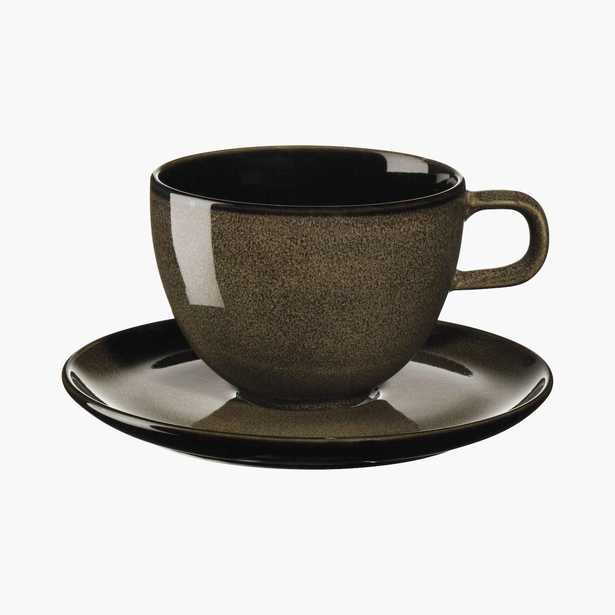 Kolibri Coffee Cup with Saucer