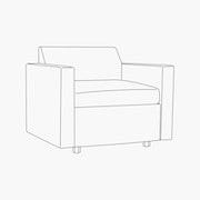 Bevel Armchair