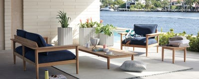 Outdoor Coffee + Side Tables
