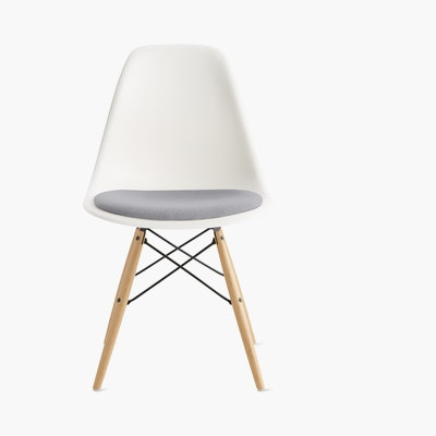 Eames Shell Side Chair with Seat Pad (DWR)