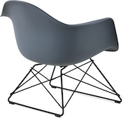 Eames Molded Plastic Low Wire Base Armchair (LAR)