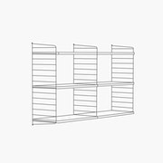 "30"" High - 2 Bays - 24"" Wide Shelves"