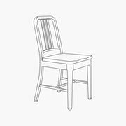 Side Chair - With Wood Seat